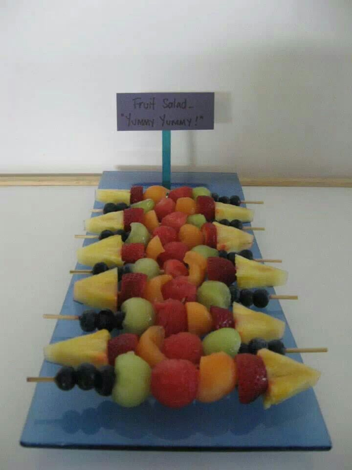Wiggles food - fruit salad yummy yummy