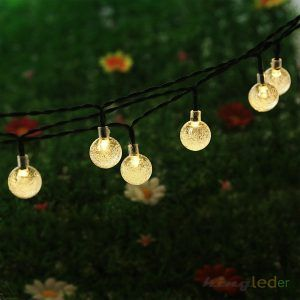 Outdoor Solar String Lights Warm White
