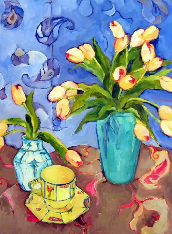 Still Life In Blue - Beth Munro