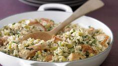 Rezept: Hähnchen-Reispfanne