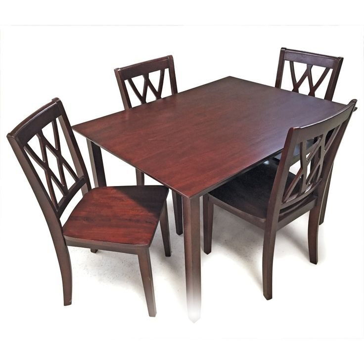 5 Piece Mahogany Dining Set