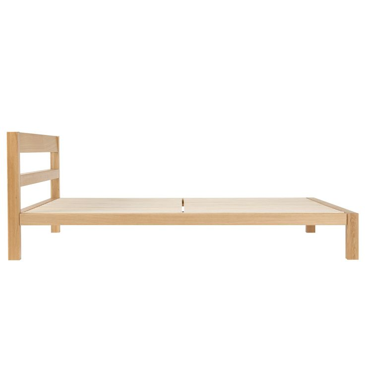 Solid Oak Bed - Large Double
