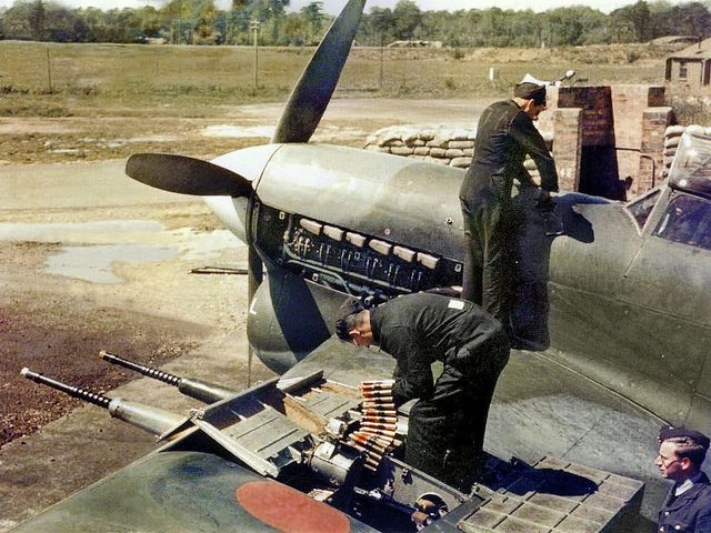 ground crews at work - details of coveralls
