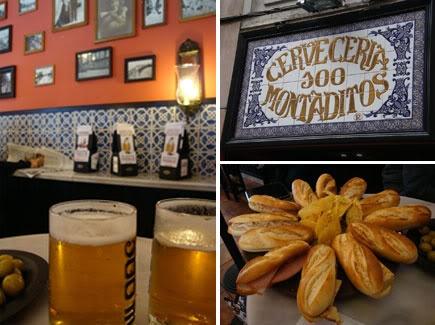 100 Montaditos #Tapas #Beer