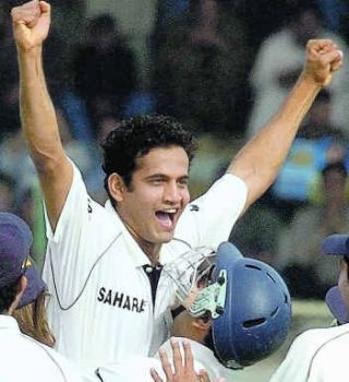 DREAM SPELL: Irfan Pathan is on cloud nine after pulling off a rare feat — a hat-trick in the opening over of a Test match — in the third Test against Pakistan in Karachi on Sunday.