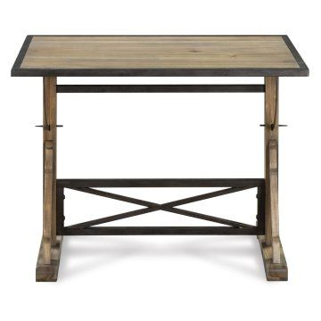17 Best Ideas About Wood And Metal Desk On Pinterest