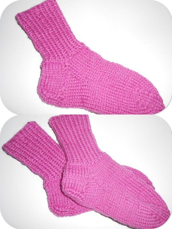 saraspysselochbak.blogg.se - Raggsockor till Stina. Socks for Stina