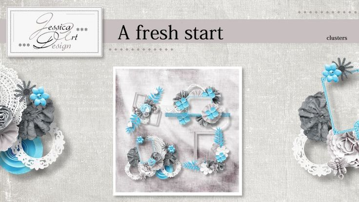 A fresh start clusters by Jessica art-design