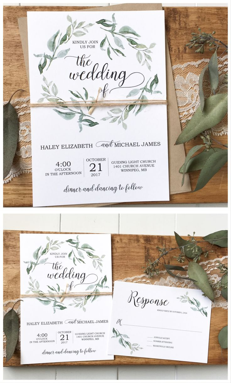 899 best Wedding Invitations - Love of Creating images on ...