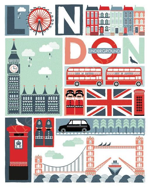 Imprimolandia: Imágenes de Londres