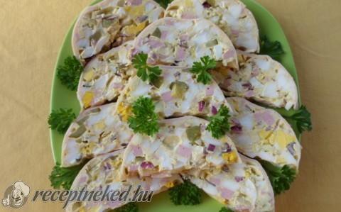 Sonkás-tojásos őzgerinc recept fotóval