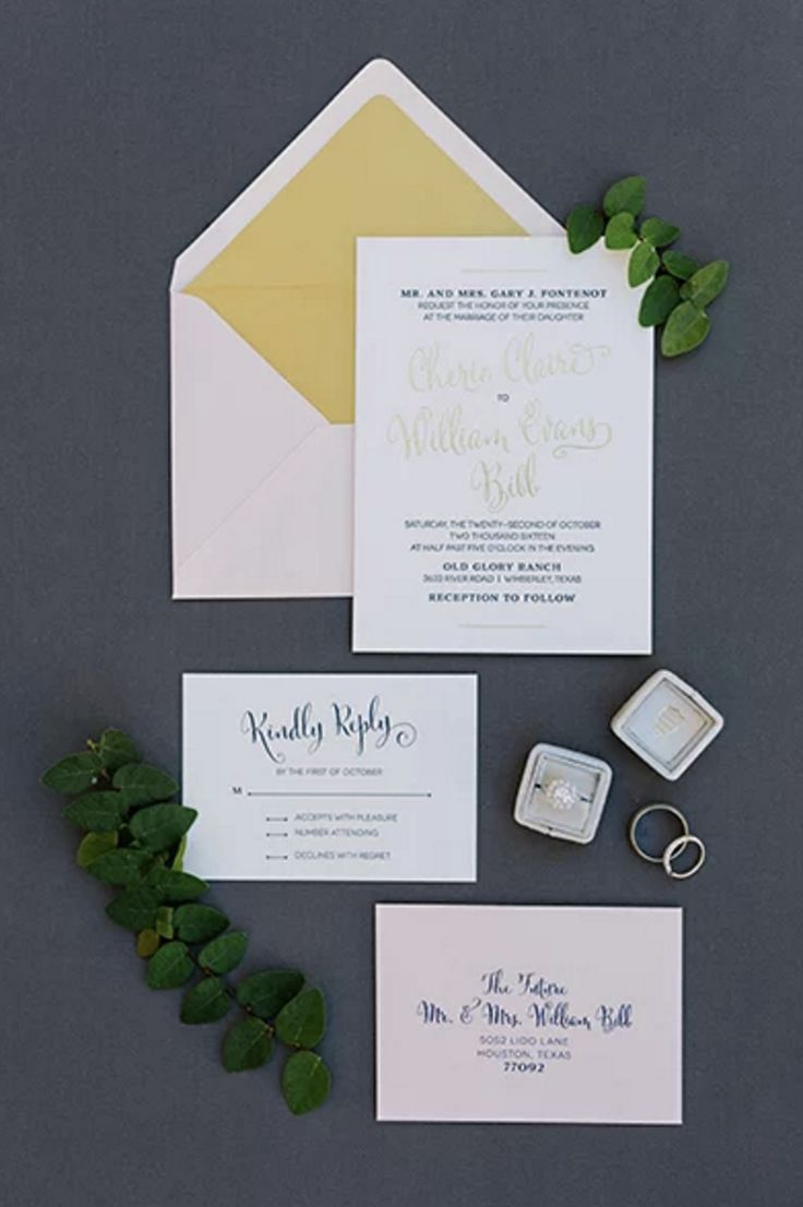 126 Best Invitations Images On Pinterest 15 Years 50th Wedding