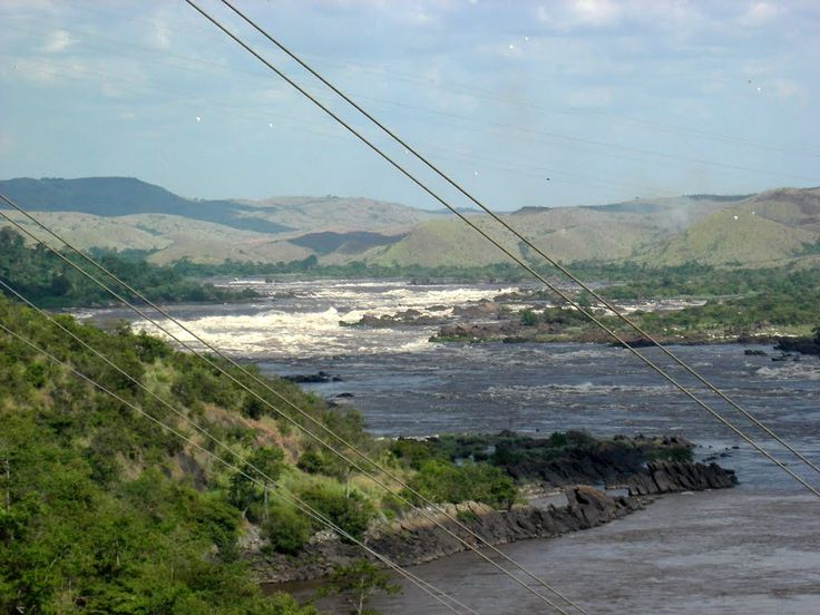 point de vue du fleuve Congo