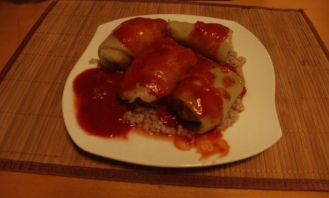 Moje pomysły na zdrowszą kuchnię: Dietetyczne gołąbki