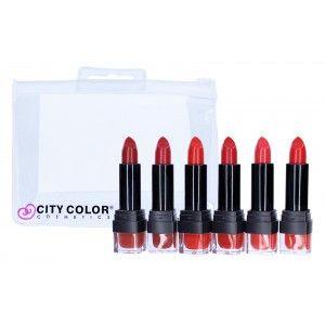 City Chic lipstick Gift Set