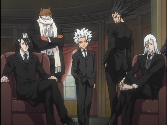Anime Characters In Suits : Best images about bleach on pinterest
