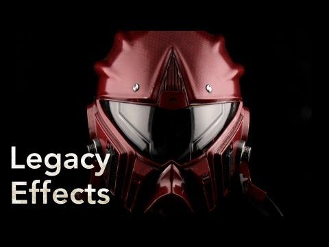 PACIFIC RIM Behind The Scenes: The Helmets - Legacy Effects