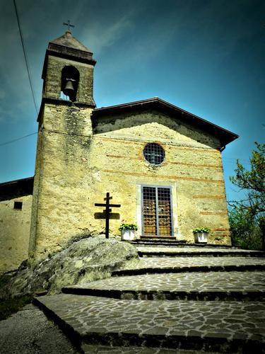 #Fiamignano (Rieti), #Lazio - Santuario SS. Trinità -  di Maria Juncu