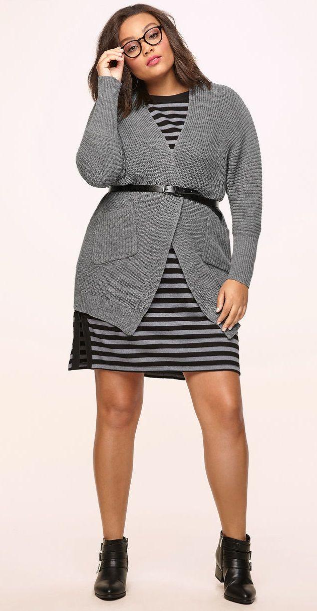 Plus Size Cardigan - Plus Size Fashion for Women #plussize