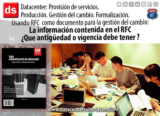Datacentersuite, Datacenter La información contenida en el RFC. ¿Que antigüedad o vigencia debe tener?