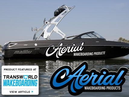 Wakeboard Tower for Boats - FreeRide with Polished Finish