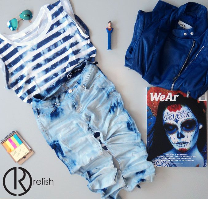 #blue Relish TREND !