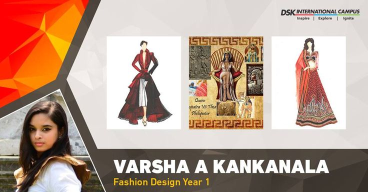 #DSKICGem Varsha's main goal is to become a well known #FashionDesigner and to be recognized for her #quality work by completing the program and getting exposure on #National as well as #International level. #DSKIC #Pune