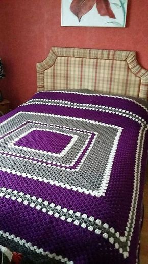 Awesome Design Ideas for Crochet Bedspreads   1001 Crochet by 1001crochet