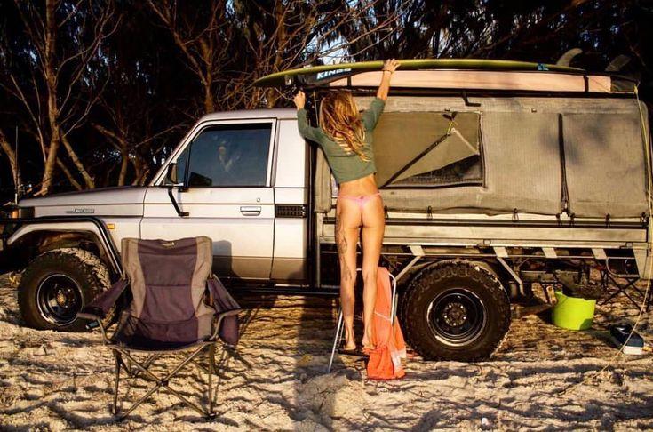 Hot Toyota LandCruiser Babes