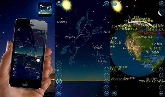 Night Sky 2 - Csillagvizsgáló alkalmazás