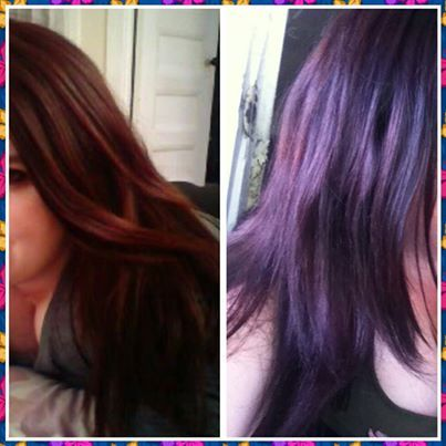 Vidal Sassoon Velvet Violet Results  Photo Before Amp After Vidal Sassoo
