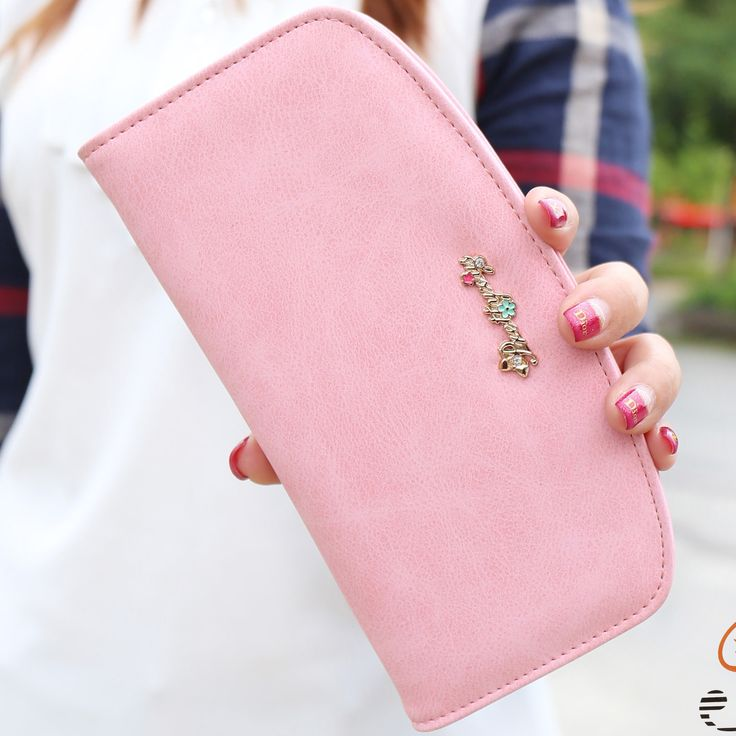 Купить 2016 новый Корейский женской моды кошелек ИСКУССТВЕННАЯ кожа оболочки молния…