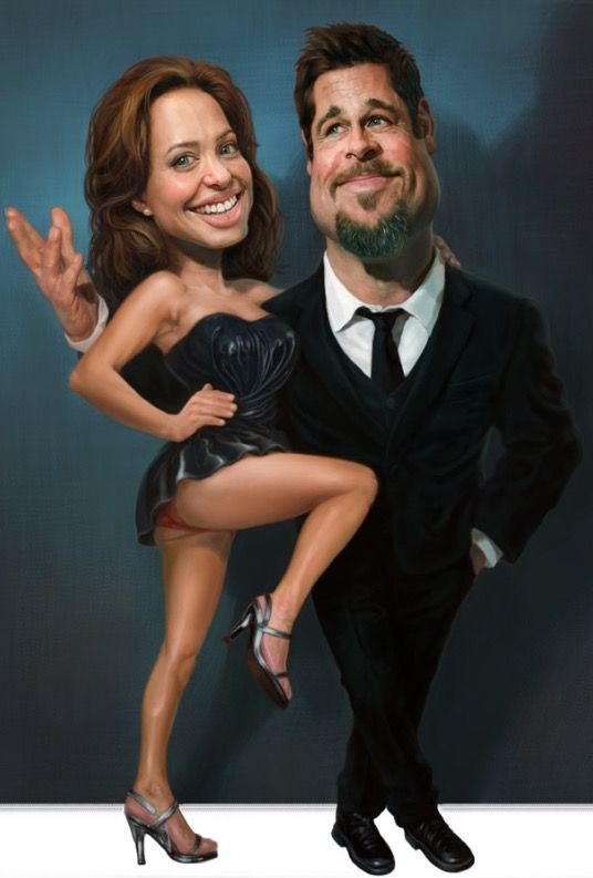 ~ Angelina Jolie & Brad Pitt