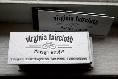 Business Card for: Virginia Faircloth