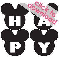 mickey mouse birthday printables