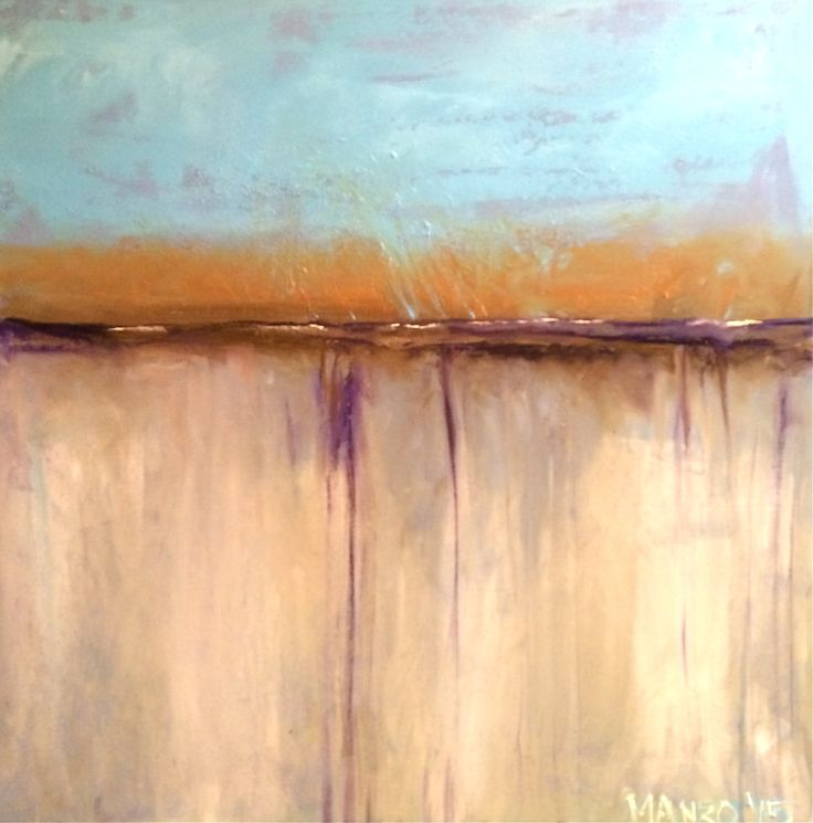 Washed Away 60cm x 60cm
