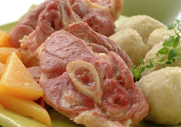 Salt lammekjøtt med kålrot