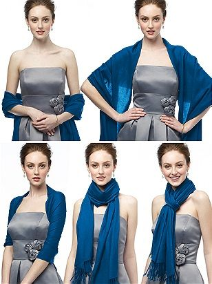 Shawls to Wear with Dress