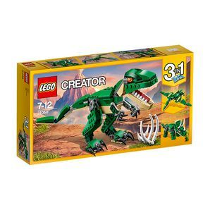 $ - 16Enjoy roaring adventures with the 3-in-1 Mighty Dinosaurs! Shake the ground with the menacing T-Rex who features a dark-green and beige colour scheme...