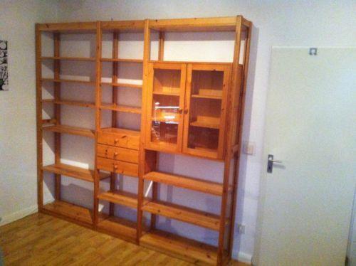 20 best Regal images on Pinterest Simple, Living room and Bookcase - küche kiefer massiv
