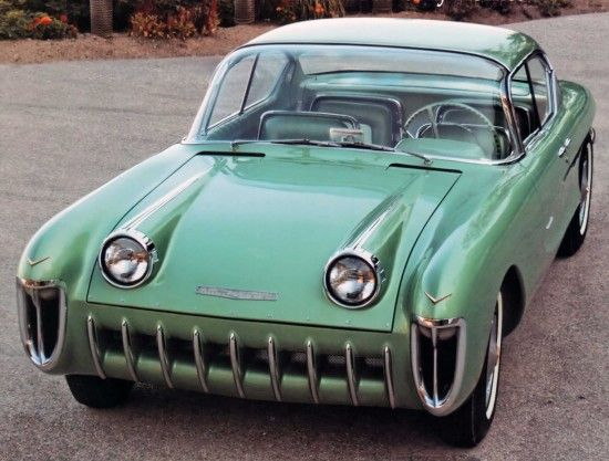 1955 Chevrolet Biscayne concept car. Interesting story. http://www.conceptcarz.com/vehicle/z1860/Chevrolet-Biscayne-XP-37.aspx