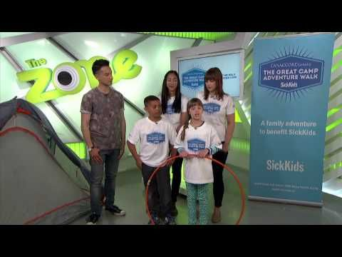 The Great Camp Adventure Walk on YTV -- May 26, 2014