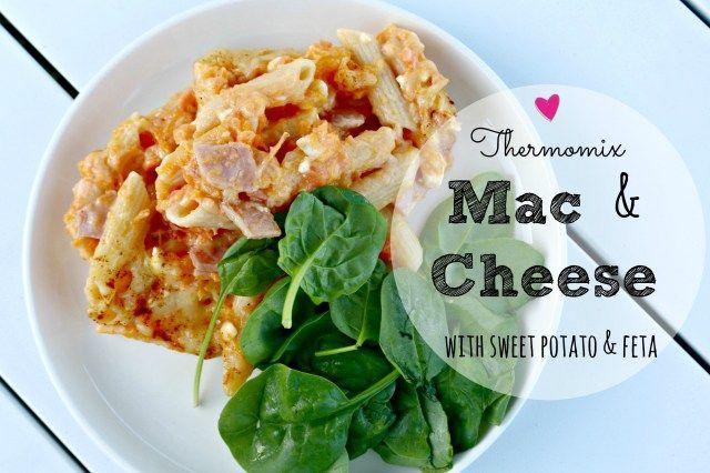 Thermomix sweet potato mac and cheese