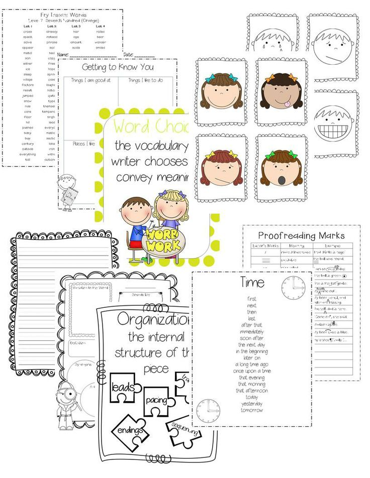 6 traits of writing lesson plans