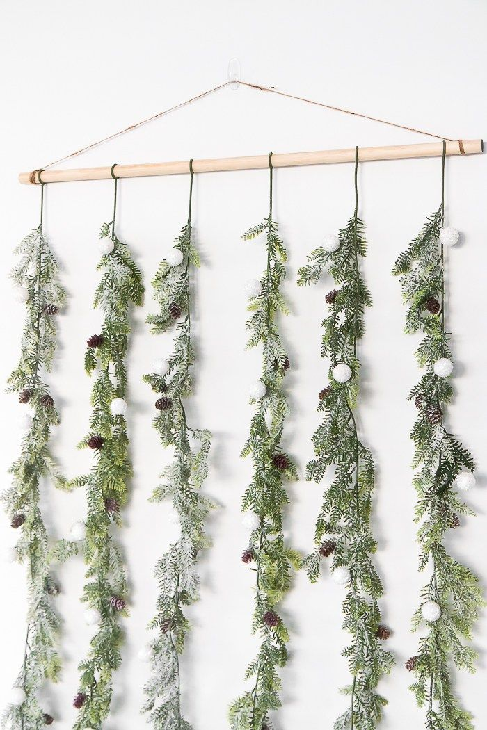 Christmas Decor Made Easy: Holiday Garland Backdrop