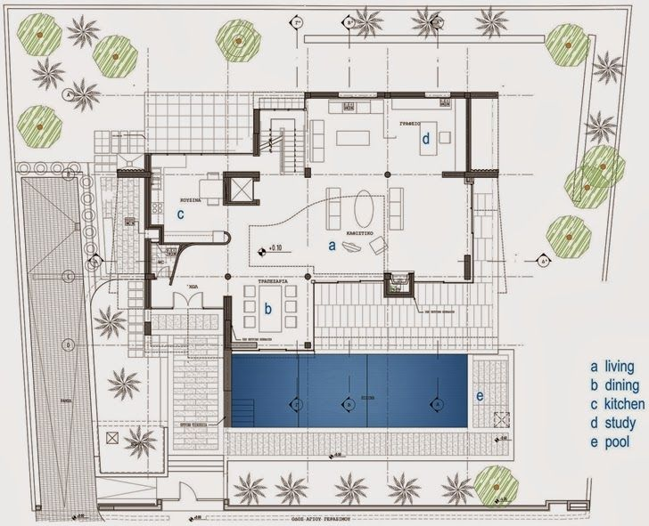 World of Architecture  Kostala House by Thanos Athanasopoulos     worldofarchi  architecture  modern   Modern House DesignModern HousesContemporary   38 best Floor Plans images on Pinterest   Floor plans  . Modern Home Floor Plans Designs. Home Design Ideas