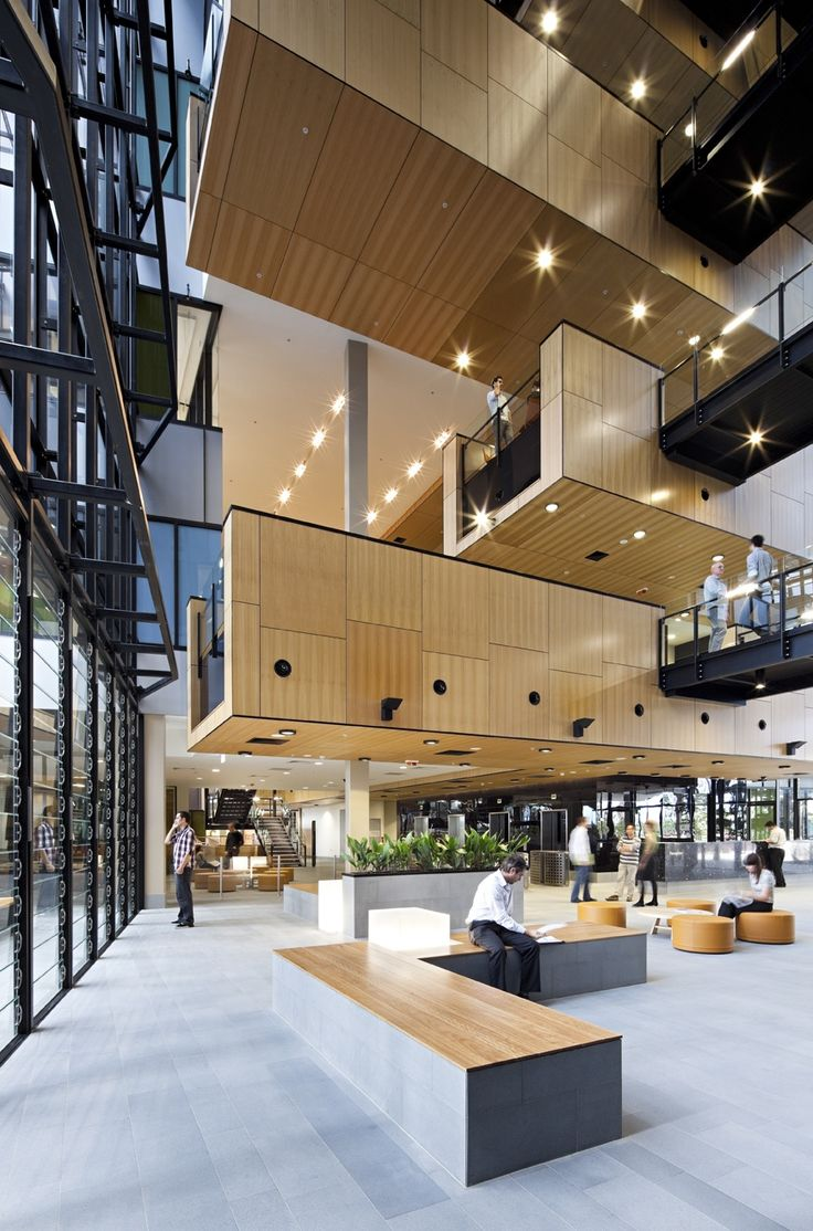 Atriums can be the heart of the building great atriums for Design in a box interior design