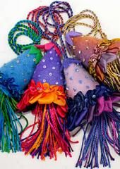 Frilly Tassel Group by Catherine Howell