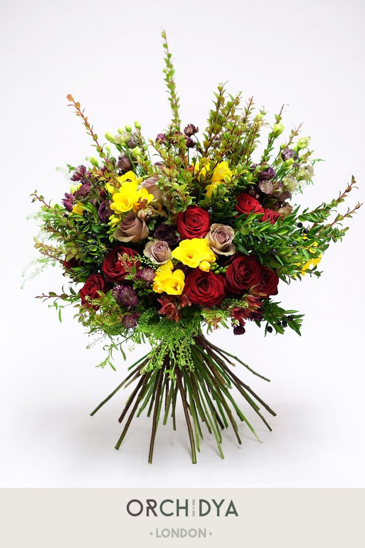 A Fantastic Dark Red Toned Luxurious Flower Bouquet Perfect Gift For Women S Day Myfloristorc British Flowers Flowers Bouquet Fresh Flowers Arrangements