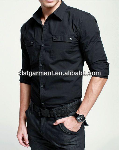 baratos 2013 delgado de la moda casual hombres camisa nueva de manga larga de corea verision camisas para hombre - spanish.alibaba.com